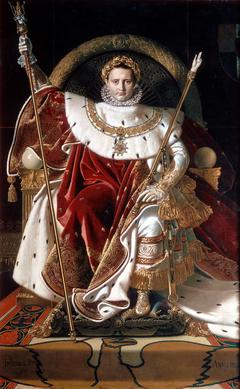 Napoleon on His Imperial Throne (Napoléon Ier sur le trône impérial)