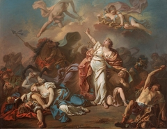 Apollo and Diana Attacking the Children of Niobe