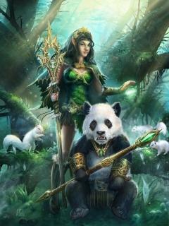 panda queen
