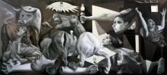 Reconstrucción de pequeño Guernica