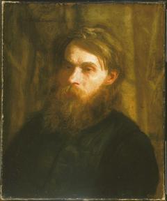 The Bohemian (Portrait of Franklin Louis Schenck)