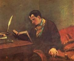 Portait de Baudelaire