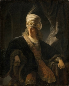 Young Man in Oriental Costume