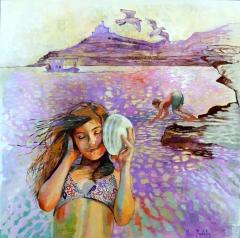 Listening the sea
