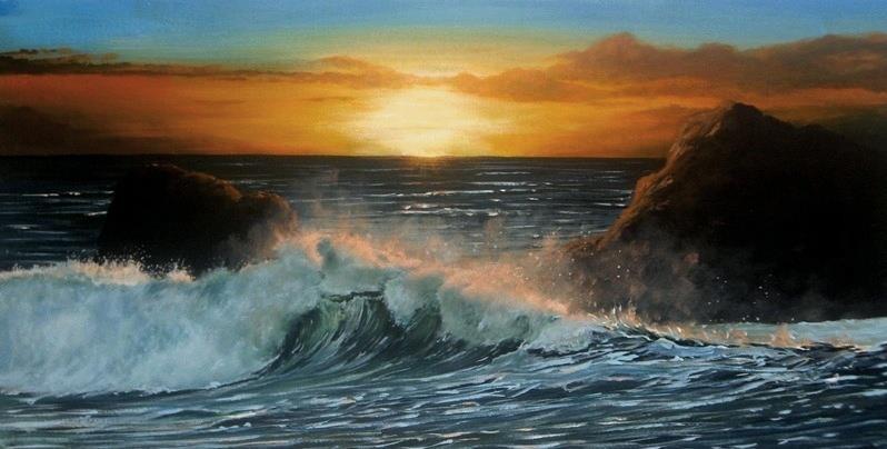 Sunset, Isle of Man