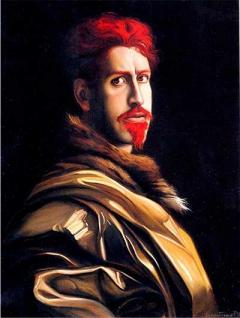 Autoritratto rosso / Red Self Portrait