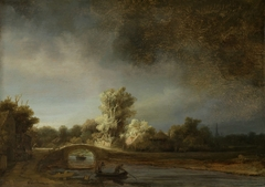 Landscape with a Stone Bridge