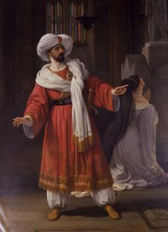 Portrait of Giovanni David as Alessandro in Pacini's Gli arabi nelle Gallie