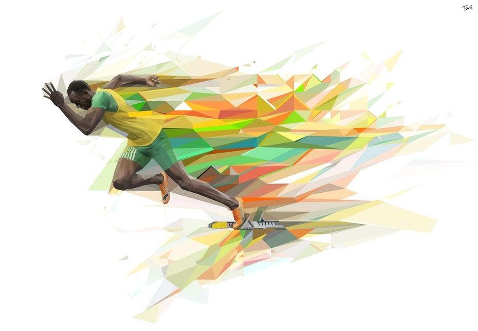 GATORADE New Series Line: Usain Bolt