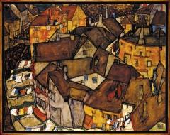 Krumau - Crescent of Houses (The Small City V)