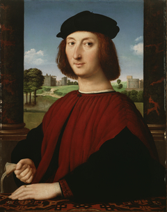 Portrait of a Young Man in Red