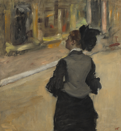 Woman Viewed from Behind (Visit to a Museum)