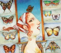 Cacciatrice delle farfalle