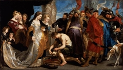 Head of Cyrus Brought to Queen Tomyris