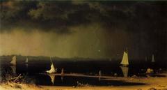 Thunder Storm on Narragansett Bay