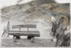 Ballad of a wooden bench.