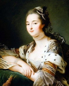 Mlle. Marguerite Catherine Haynault, later the Marquise de Montmelas in Turkish Costume