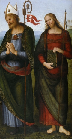 Saint Herculanus and Saint James the Great