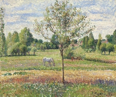 The Meadow with the Grey Horse, Éragny