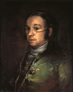 Goya Self portrait with spectacles