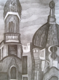 Urban landscapes Drawings (series)