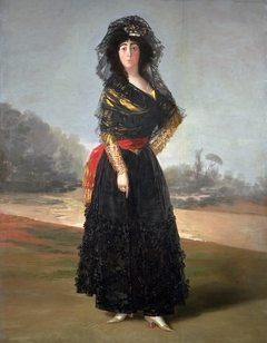 Mourning Portrait of the Duchess of Alba